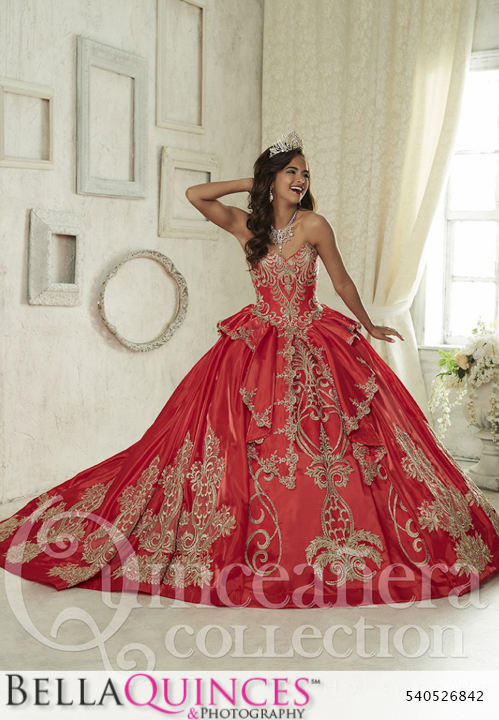 1f69f8673f1 26842 red gold quinceanera collection bellaquinces photography