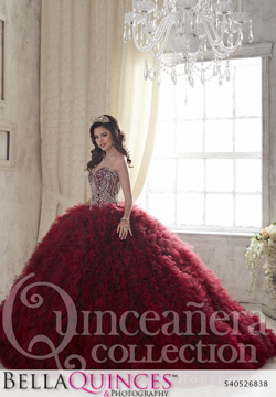 26838 burgundy quinceanera collection bellaquinces photography