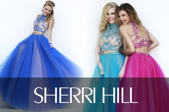 Sherry Hill Spring 2017 designer quinces dresses