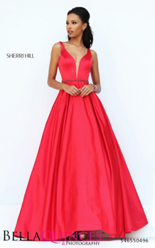50496 prom glam red bella quinces photography
